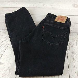 (sold)Levi's 505 black jeans 33X32